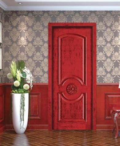 复合实木套装门